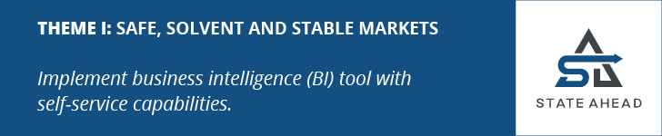 THEME I: Safe, Solvent and Stable Markets