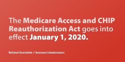 The Medicare Access and CHIP Reauthorization Act goes into effect January 1, 2020.