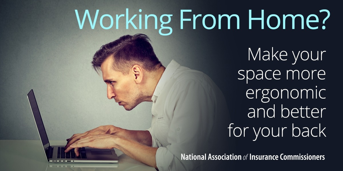 Working remotely during the pandemic? Follow these tips to prevent injuries while working from home
