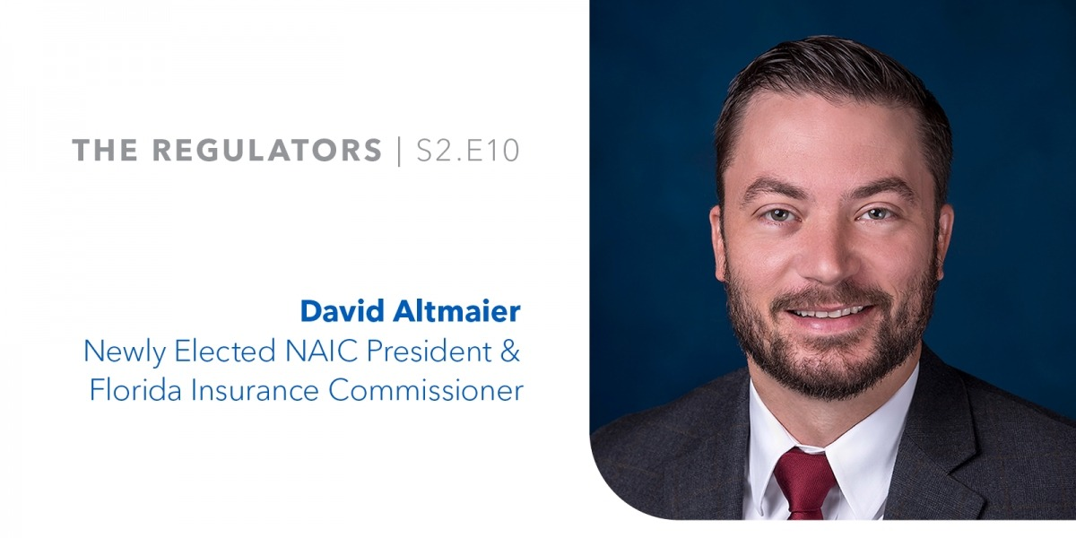 Newly Elected NAIC President David Altmaier image